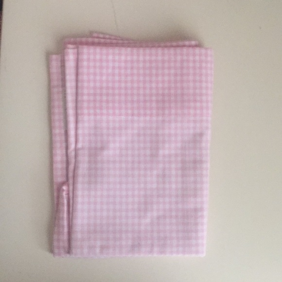 amazing Pink Gingham Valance Part - 3: Pottery barn kids pink gingham valances